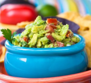 Image of guacamole in bowl